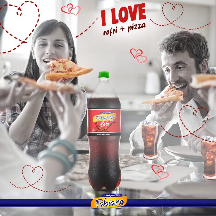I love 💘 Fabiane 🥤 & Pizza 🍕